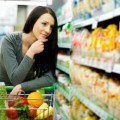Girl on Grocery store - Student Help: Student Utilities UK